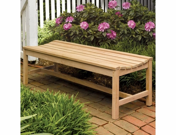 Oxford Garden Teak 5' Backless Bench - Cyber Monday Sale Pricing
