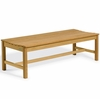 Oxford Garden Teak 5' Backless Bench
