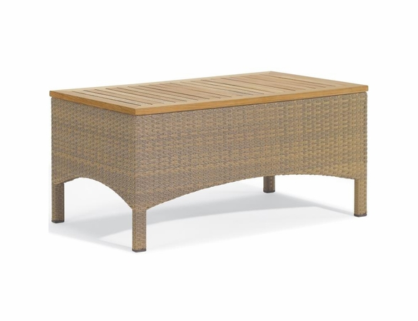 Oxford Garden Torbay Wicker Coffee Table - Reduced Closeout Pricing