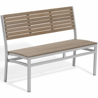 "Oxford Garden Travira 45"" Tekwood Stacking Bench - Additional Summer Sale Pricing"