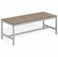 "Oxford Garden Travira 48"" Tekwood Backless Bench - Additional Summer Sale Pricing"