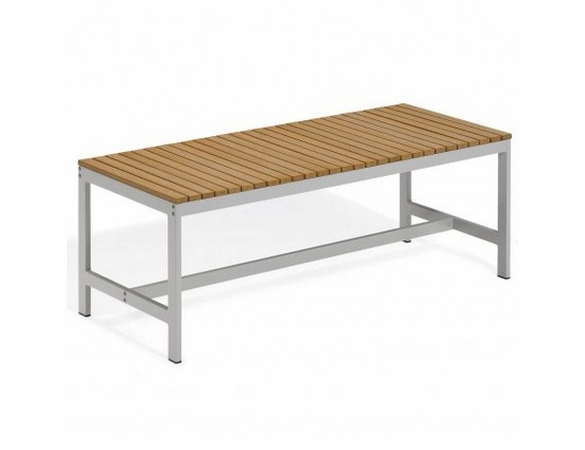 "Oxford Garden Travira 48"" Tekwood Backless Bench - Additional Holiday Discounts - Good 'til Dec 9"
