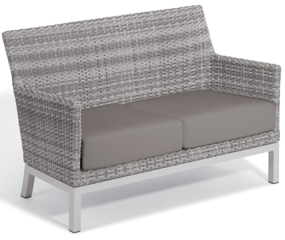 Oxford Garden Travira Argento Resin Wicker Loveseat 2 Jpg