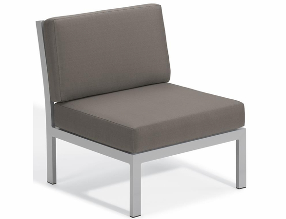 Oxford Garden Travira Armless Chair Sectional Unit - Additional Summer Sale Pricing