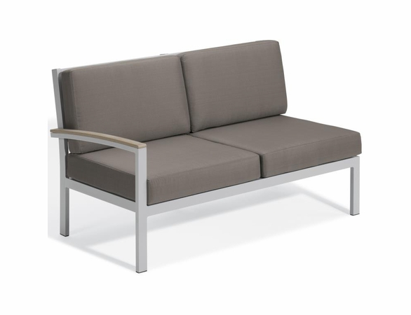 Oxford Garden Travira Right Arm Loveseat Sectional Unit - Additional Summer Sale Pricing