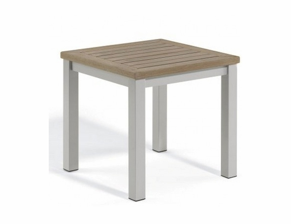 """Oxford Garden Travira Tekwood 18"""" End Table - Additional Summer Sale Pricing"""