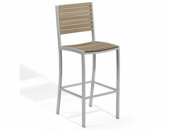 Oxford Garden Travira Tekwood Bar Chair - Spring Season Sale