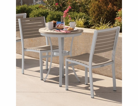 Oxford Garden Travira Tekwood Bistro Set - Extra Spring Preview Discounts