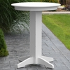 "Polyresin 33"" Round Bar Table"