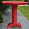 "Polyresin 44"" Round Bar Table"