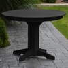 "Polyresin 44"" Round Dining Table"