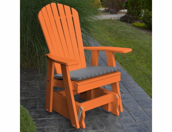 Polyresin Adriondack Gliding Chair