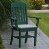 Polyresin Classic Dining Chair w/ Arms