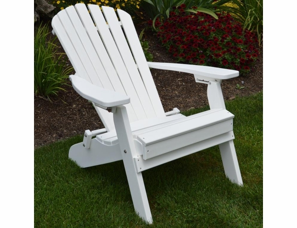 Polyresin Folding/Reclining Adriondack Chair