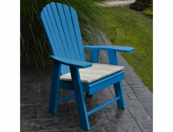 Polyresin Upright Adriondack Chair