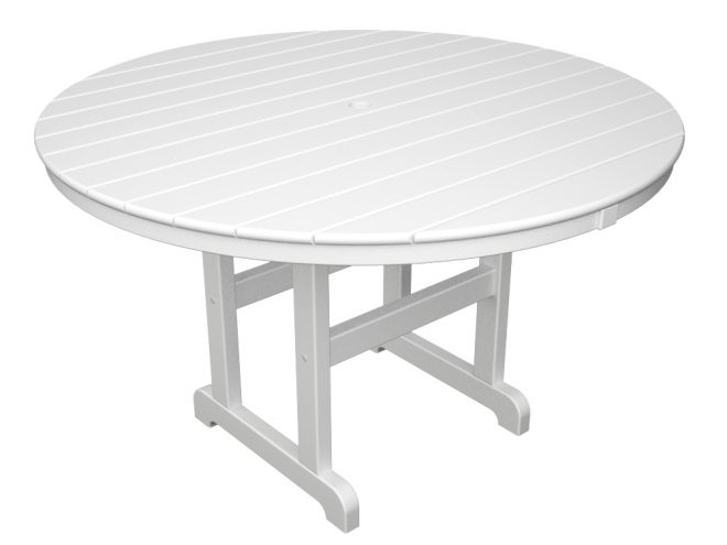 Polywood 48 Inch Round Dining Table