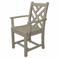 """POLYWOOD® Chippendale 35"""" Dining Arm Chair - Temporarily Unavailable"""