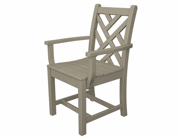 "POLYWOOD® Chippendale 35"" Dining Arm Chair"