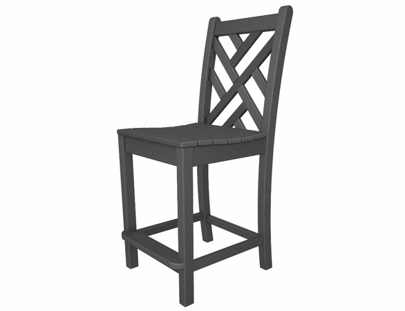 """POLYWOOD® Chippendale 41"""" Counter Side Chair"""