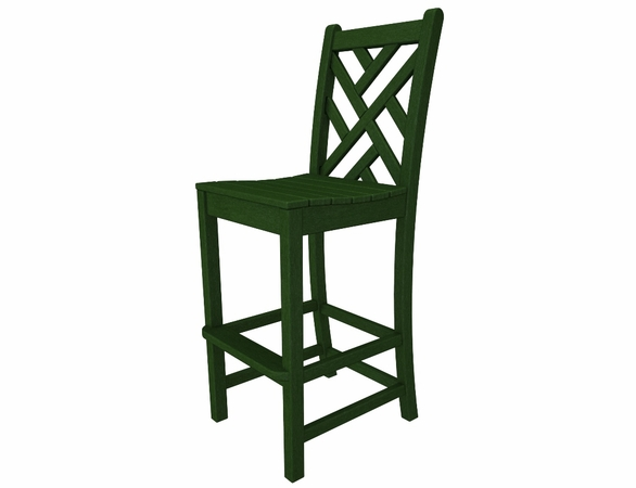 "POLYWOOD® Chippendale 48"" Bar Side Chair"