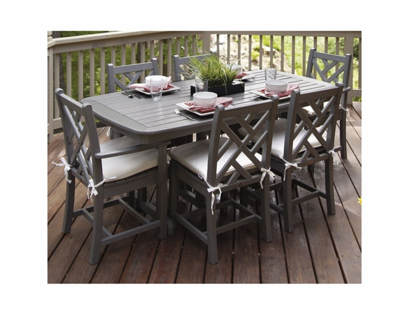 POLYWOOD® Chippendale 6 Seat Dining Set - Temporarily Unavailable
