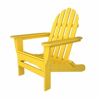 POLYWOOD® Classic Folding Straight Back Adirondack Chair
