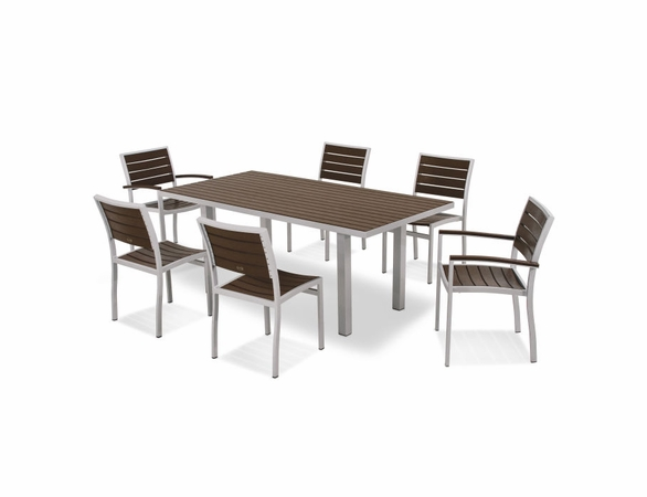 POLYWOOD&reg; EURO 7 Piece Dining Set<br><br>Temporarily Out of Stock<br>Call for Information