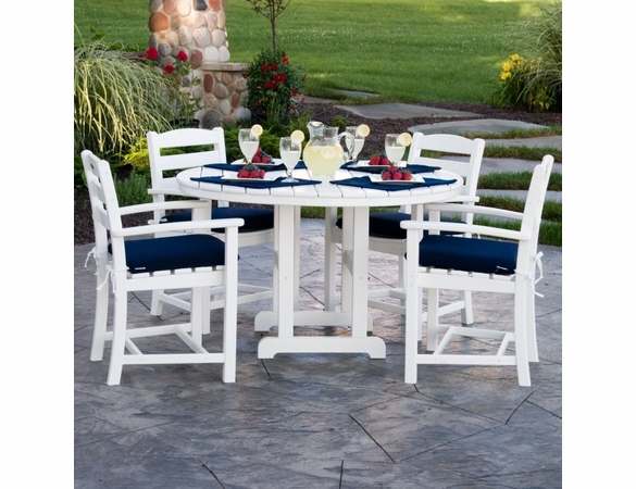 POLYWOOD® La Casa Cafe&#39 4 Seat Dining Set  - Temporarily Unavailable