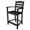 POLYWOOD® La Casa Cafe&#39 Counter Height Arm Chair