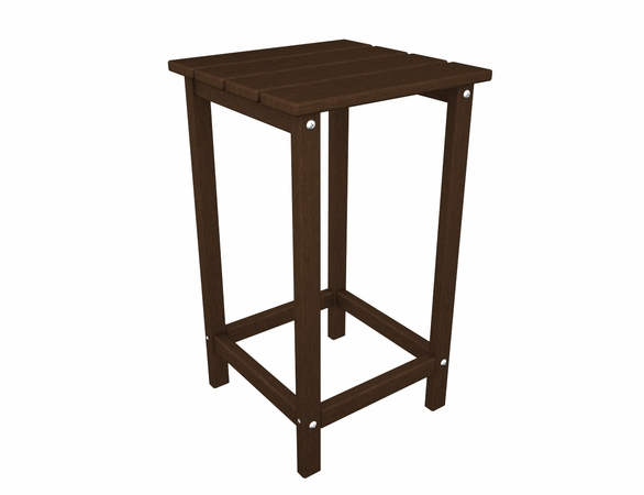 "POLYWOOD® Long Island 26"" Counter Side Table"