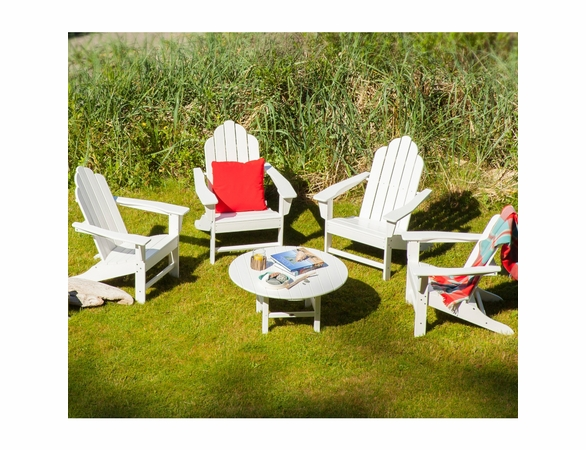 POLYWOOD® Long Island Adirondack 4 Seat Conversation Group  -  Temporarily Out of Stock