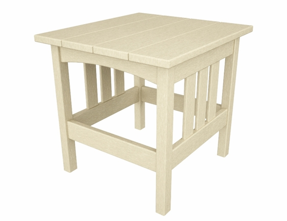 """POLYWOOD® Mission 22"""" x 24"""" Side Table"""