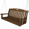 POLYWOOD® Nautical 4 FT Swing