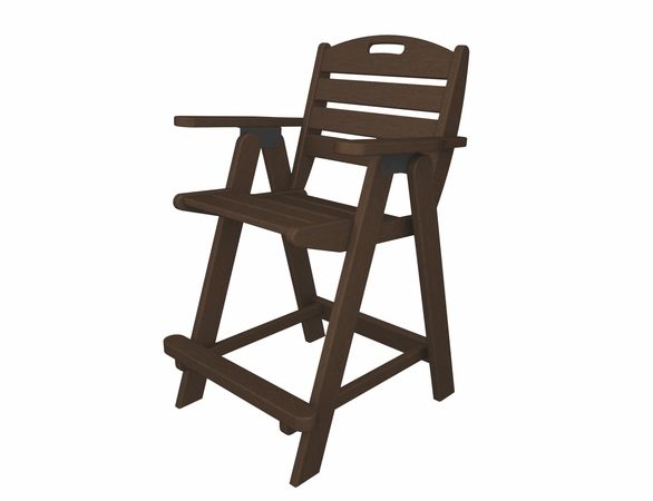 "POLYWOOD® Nautical 40"" Counter Chair"