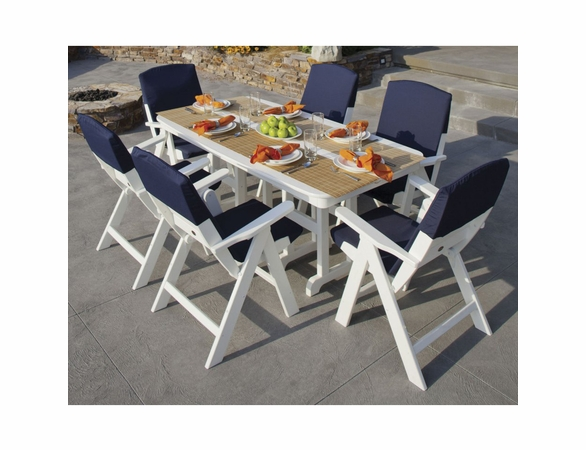 POLYWOOD® Nautical 6 Seat Dining Set - Temporarily Unavailable