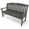 """POLYWOOD&reg; Nautical 60"""" Bench<br><br>Temporarily Out of Stock"""