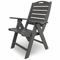 POLYWOOD&reg; Nautical Highback Chair<br><br>Temporarily Out of Stock
