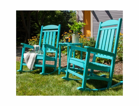 POLYWOOD® Presidential Rocking Chair 3 Pc Set  -  Temporarily Out of Stock