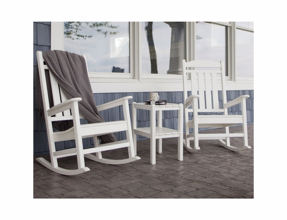 POLYWOOD® Presidential Rocking Chair 3 Piece Set  -  Temporarily Out of Stock