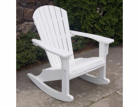 POLYWOOD® SeaShell Rocking Chair