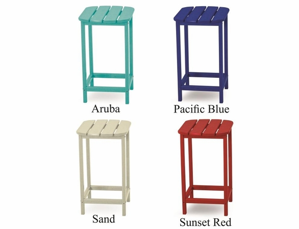 "POLYWOOD® South Beach 26"" Counter Side Table"