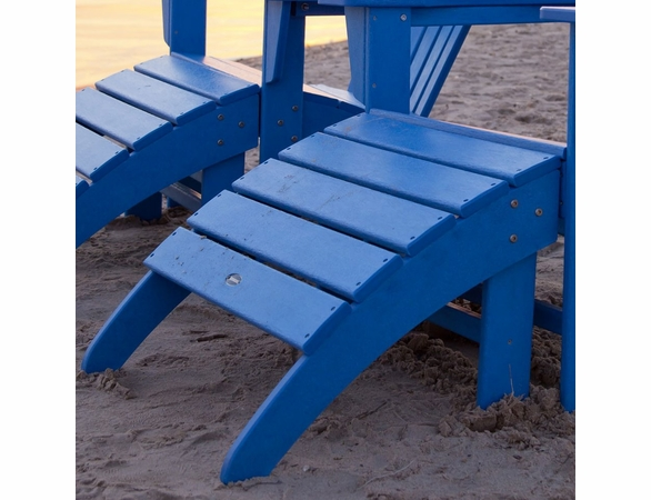 POLYWOOD® South Beach Ottoman for Adirondack Chair