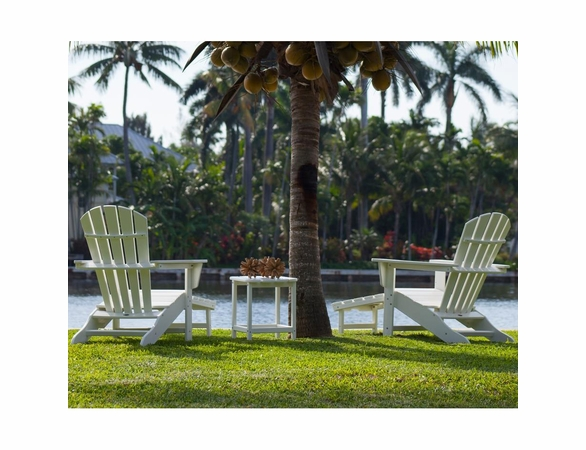 POLYWOOD® South Beach Ultimate Adirondack 3-Piece 2 Seat Set  -  Temporarily Out of Stock