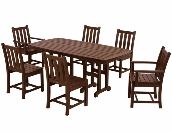 POLYWOOD&reg; Traditional Garden 6 Seat Dining Set<br><br>Temporarily Out of Stock