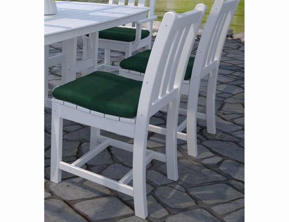 POLYWOOD® Traditional Garden Dining Side Chairs