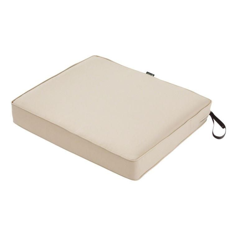 Rectangular 17 X 15 Replacement Chair Cushion 2 Inches Thick