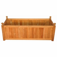 Regal Teak Rectangular Planter