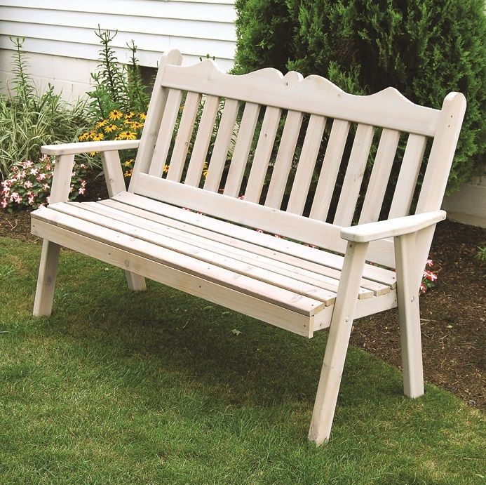Admirable Royal English Cedar Garden Bench 4 5 Or 6 Bralicious Painted Fabric Chair Ideas Braliciousco