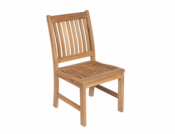 """Royal Teak 96"""" - 120"""" Rectangular Family Expansion Table and 10 Compass Chairs Dining Set"""
