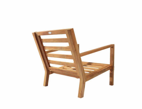 Royal Teak Coastal Deep Seating Chair